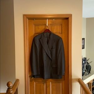 Other - 100% wool grey suit jacket